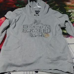 NWOT EckoRed & Co. Hooded Pullover